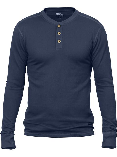 Fjällräven Lappland Merino - Camiseta de manga larga Hombre - azul